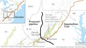 Appalachian Trail Pennsylvania Map by A Pipeline Cutting Through The Iconic Appalachian Trail Sparks A