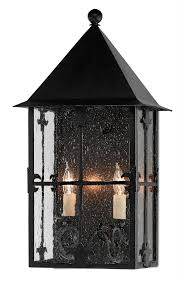 two light outdoor wall sconce currey company old world two light outdoor wall sconce in black
