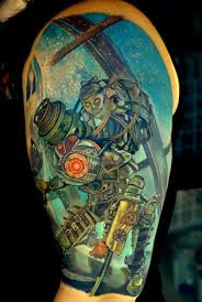 things we saw today an awfully good looking bioshock tattoo the