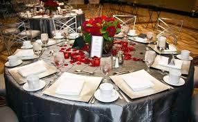 Platinum Wedding Decor Lameeka U0027s Blog Elegant Wedding Table Decorations Chair Covers