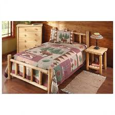 Rustic Furniture Store Amish Made Log Beds Rustic Furniture Bedroom Pine Unique Four