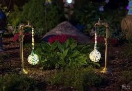 Solar Lights For The Garden Diy Waterdrop Solar Lights Hometalk