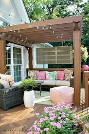 Easy Backyard Patio How To Decorate A Small Patio Small Patio Outdoor String