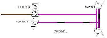1968 replacement 2 terminal horn wiring mgb u0026 gt forum mg
