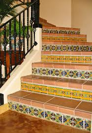 Mexican Style Home Decor Tilestaircase Mexican Style Home Decor House Design Ideas