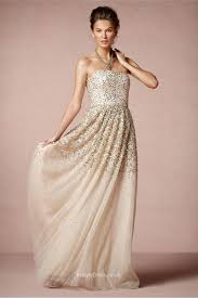 bhldn wedding dresses uk strapless sparkle tulle wedding dress with gold and silver sequins
