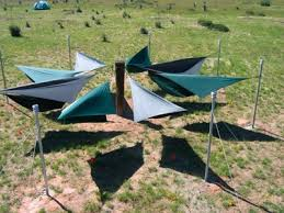 integrating hammocks into parks campsites and jamborees