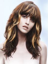chunking highlights dark hair pictures highlights in brown hair styles