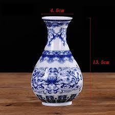 Porcelain Flower Vases Generic Hand Painting Chinese Porcelain Flower Vases Antique