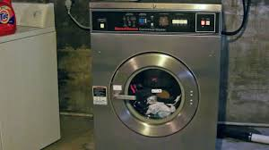 speed queen sc27 front load industrial washer extractor youtube
