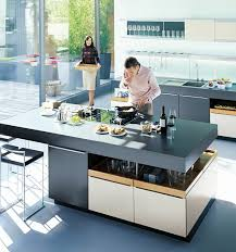 Kitchen With Island Images Open Kitchen Design With Island Mapo House And Cafeteria