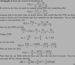 laplace transform table calculator lecture 2 inverse z transforms free online course materials usu