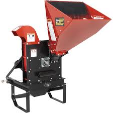 nortrac pto chipper u2014 5 1 2in capacity chippers shredders