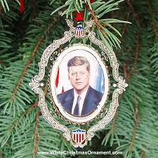 american president collection f kennedy ornament