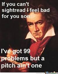 Beethoven Meme - wise guy beethoven by quincytwotone meme center