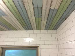 bathroom ceiling ideas ceiling u0026 fan beautify your home using beadboard ceiling
