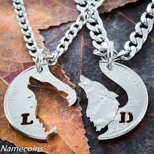 silver wolf necklace images Howling wolf relationship necklaces namecoins jpg