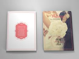 Wedding Magazine Template Wedding Magazine Template On Behance