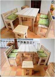 Pallet Patio Furniture Ideas by Awesome Diy Wooden Pallet Ideas That Can Improve Your Home