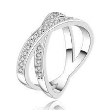 wedding rings online 2015 new 925 silver rings crystals wedding rings for women