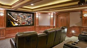 Ideas Basement Walls Unfinished Awesome Theater Rooms In Homes