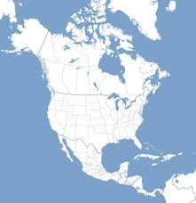World Map North America by Blank Map Directory All Of North America Alternatehistory Com Wiki