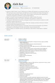 Architect Resume Samples by Resume Templates Lead Architect Resume Solution Architect Resume