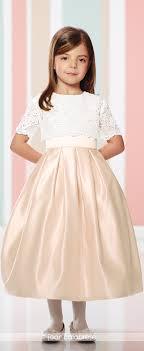 joan calabrese communion dresses satin two communion flower girl dress 216301 flower