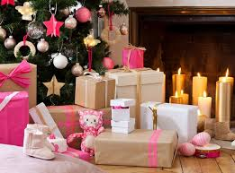 Christmas Paper Table Decoration christmas table setting ideas modern style craft paper packaging