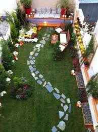 Gardening Ideas For Small Spaces Design For A Small Back Town Garden On A Low Budget Pinteres