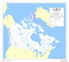 Canadian River Map Glacier Distribution Ccin