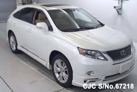 lexus cars 2011 2011 lexus rx450h white for sale stock no 67218 japanese used