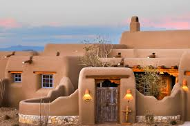 pueblo style house plans 10 inspired outdoor spaces hgtv