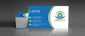 15 free real estate business card templates designazure com