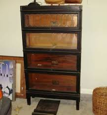 Barrister Bookshelves by Kim U0027s Wood Specialties Antique Barrister Bookcase Refinished