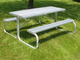 Aluminum Park Benches Aluminum Picnic Tables Metal Park Tables National Recreation