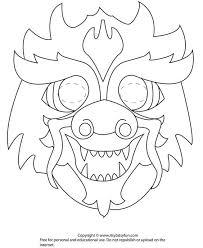 dragon masks color dragon mask color holidays