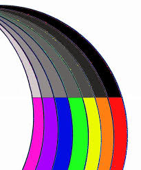 black and white rainbow outline clipart panda free clipart images