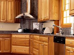 oak kitchen cabinets and granite countertops grey stained oak