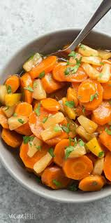 these cooker pineapple glazed carrots are the side dish