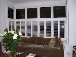 box bay victorian shutters offer clean lines for window in
