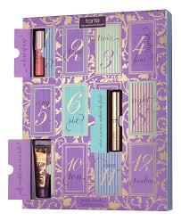 makeup advent calendar treats 12 days of tarte deluxe collection advent calender