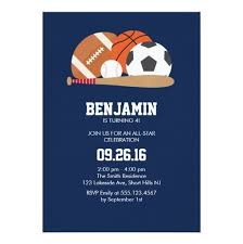 navy all star sports themed birthday party invitation ladyprints