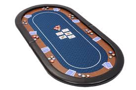 folding poker tables for sale chion folding poker table top in blue speed cloth and case