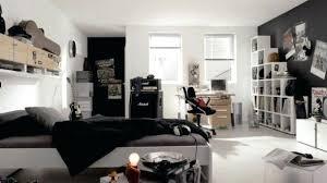 chambre ado deco noir et blanc chambre decoration chambre ado noir et blanc