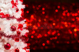christmas tree with white lights and red bows christmas tree background white xmas tree red defocused lights