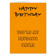 favorite uncle greeting cards zazzle