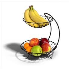modern fruit holder kitchen modern 3 tier fruit basket wrought iron fruit bowl fruit