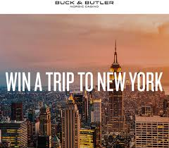 win a trip to new york city with buck and butler casino