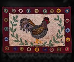 Chicken Rug Artworks U2013 Kingross Quilts And Fibre Arts